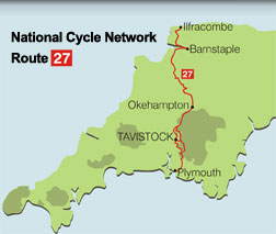 Sustrans Route 27 Map